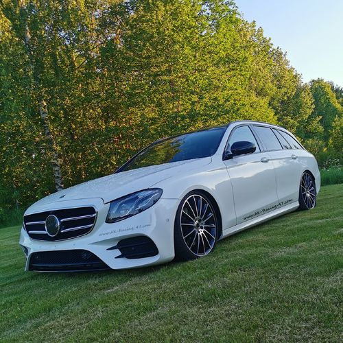AK-Suspension-Control - Mercedes E-Class W213 - Air-Suspension Lowering-Module with APP