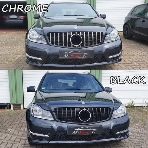 Grille Panamericana Style - Mercedes C-class (W204 S204 C204 A204) - AMG GT STYLE